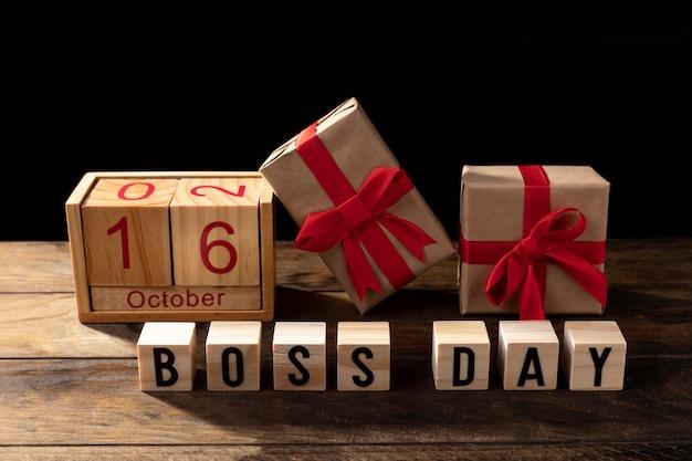 Boss tagesgeschenke mit rotem band