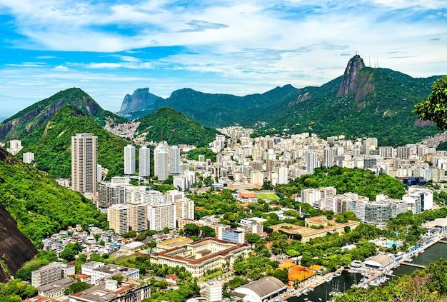 Botafogo-viertel von rio de janeiro in brasilien