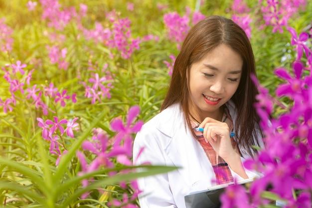 Botanischer forscher