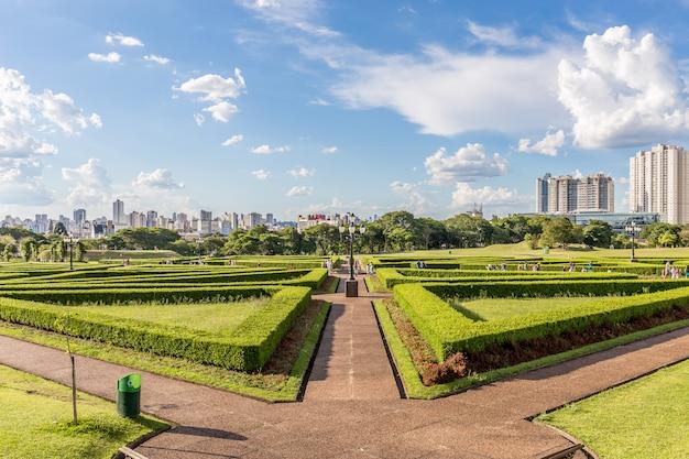 Botanischer garten, curitiba. bundesstaat parana, brasilien