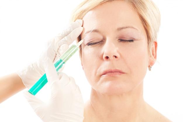 Botox - alter und schönheit
