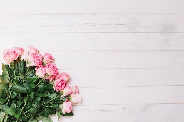 Bouquet von weichen rosa rosen