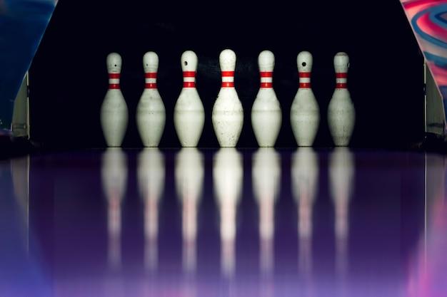 Bowling platziert