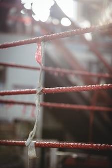 Boxring im fitnessstudio