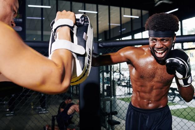 Boxtraining mit trainer