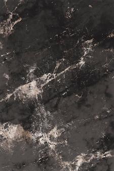 Bräunlich-schwarzer marmor strukturierter hintergrund