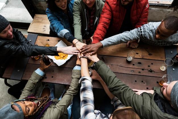 Brainstorming-einheit für zusammenarbeits-team
