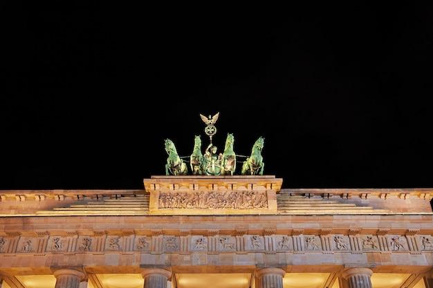 Brandenburger tore in berlin, deutschland