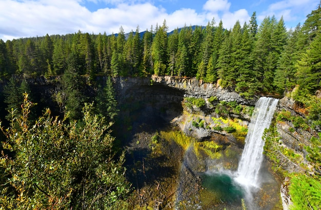 Brandywine falls provincial park, britisch-kolumbien, kanada
