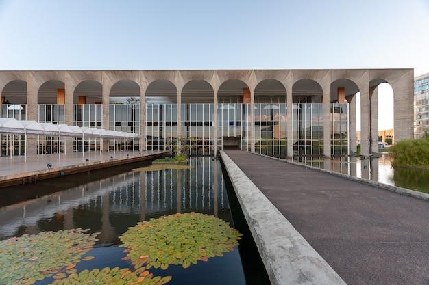 Brasilia, brasilien - 3. märz 2007 - brasilianischer itamaraty-palast - auswärtiges amt - außenministerium