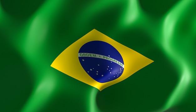 Brasilianische flagge.