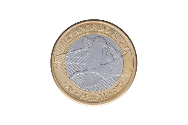 Brasilianische gedenkmünze