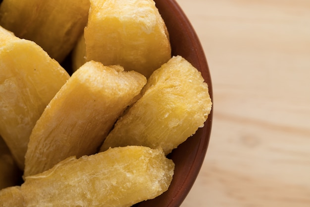 Brasilianische mandioka frita