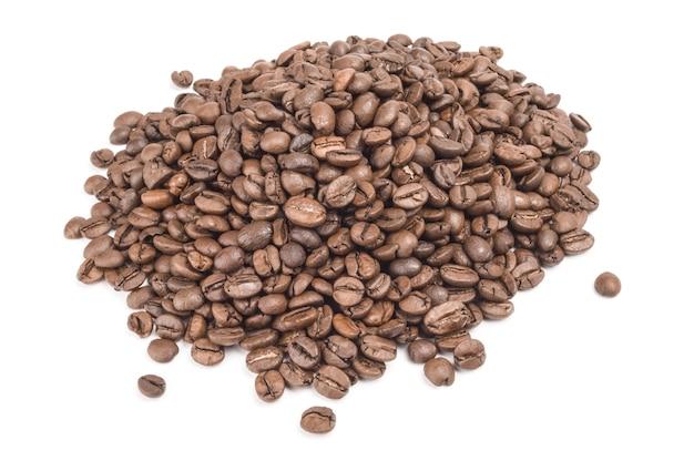 Brasilianischer kaffee auf weiß.