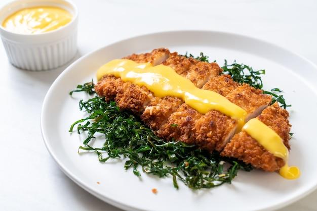Brathähnchen mit zitronen-limetten-sauce