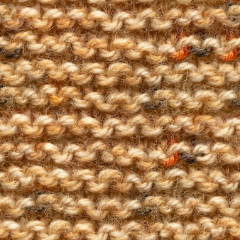 Braun gelbes strickmuster nahtloses muster