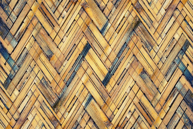 Braune bambuswebtextur