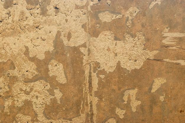 Braune betonmauer