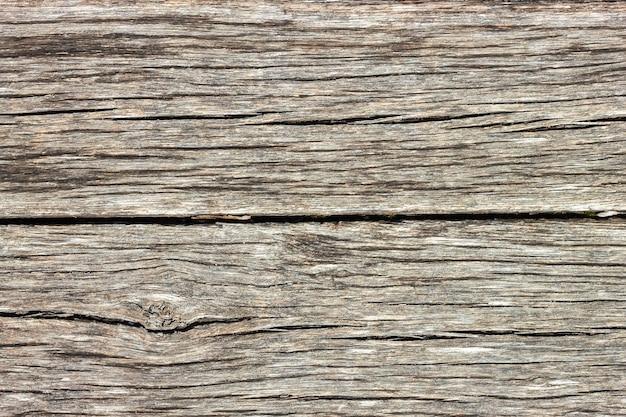 Braune holzbrett textur, gealterte holzplanke. draufsicht, flach liegen