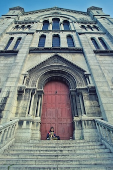 Braune kathedrale