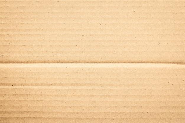 Braune papierschachtel oder wellpappe blatt textur