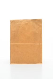 Braune papiertüte