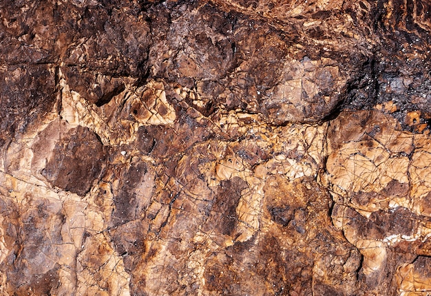 Braune steinbeschaffenheit