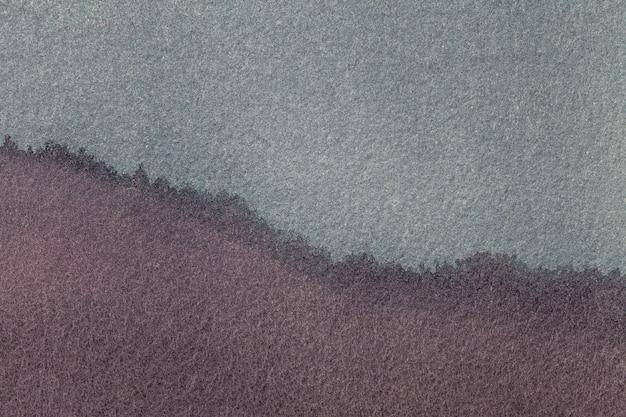 Braune und dunkelgraue farbe des hintergrundes der abstrakten kunst. mehrfarbenmalerei auf segeltuch.