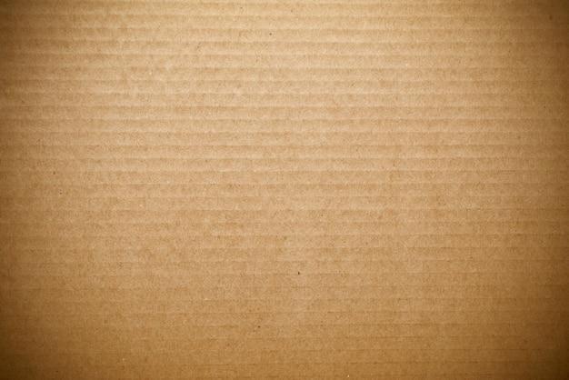 Braune wellpappe papierstruktur, hintergrund oder hintergrund.