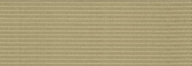 Braune wellpappe textur hintergrundbanner