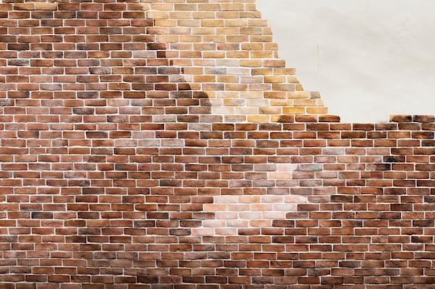 Braune ziegelmauer