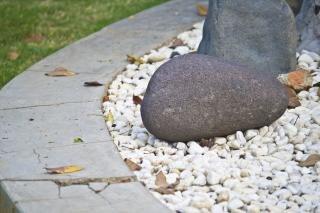 Braunem stein, verwittert