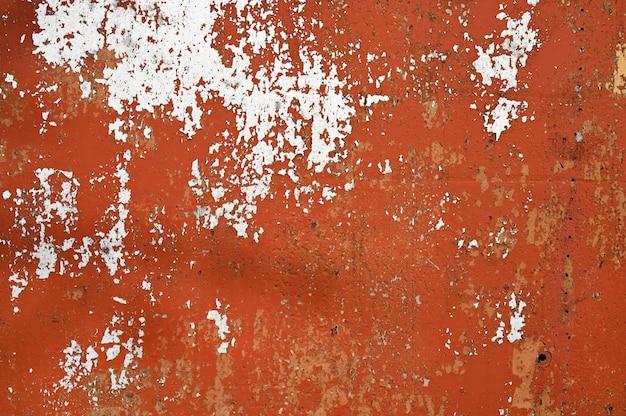 Brauner metallhintergrund. gegossene farbe. metallstruktur