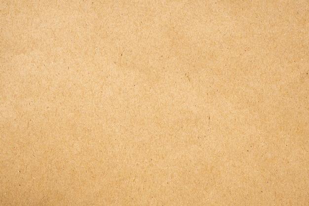 Brauner öko recyceltes kraftpapierblatt texturkarton hintergrund