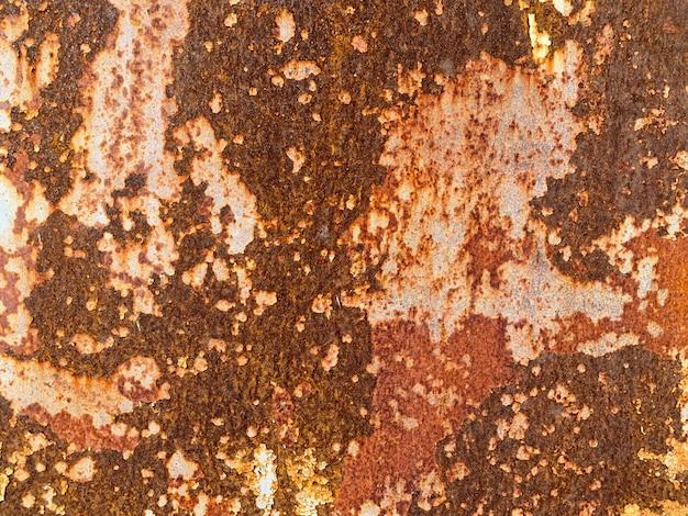Brauner rustikaler metallbeschaffenheitshintergrund