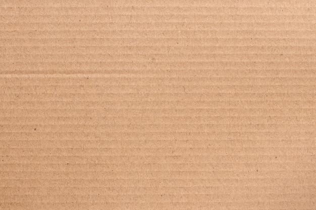 Braunes kartonblatt, textur des recyclingpapierkastens.