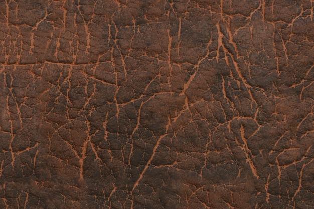 Braunes kunstleder. textur hintergrund