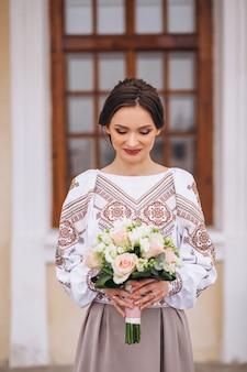Braut, um auf verlobung zu sein
