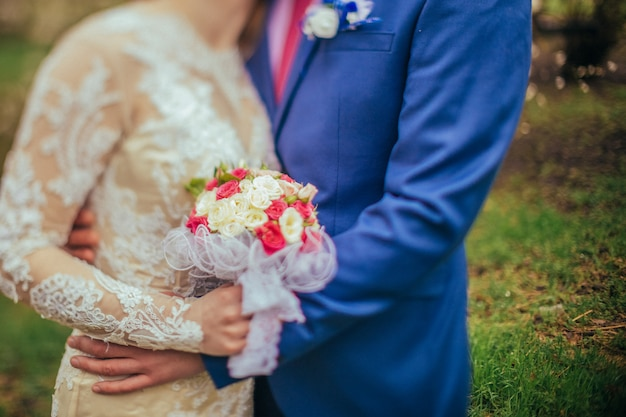 Braut und bräutigam hochzeitstag