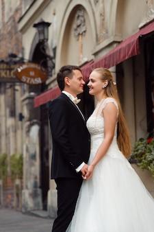 Braut und bräutigam vor der hochzeit