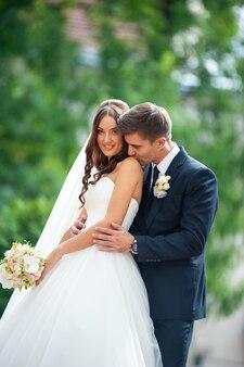 Brautpaar vor der hochzeit