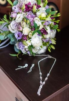 Brautstrauß mit dekoration