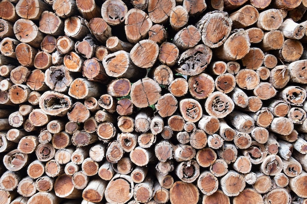 Brennholz hintergrund. vintage-konzept.