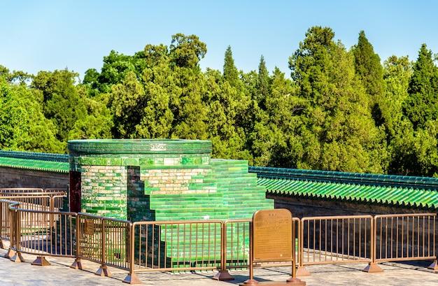 Brennholzofen am himmelstempel in peking, china
