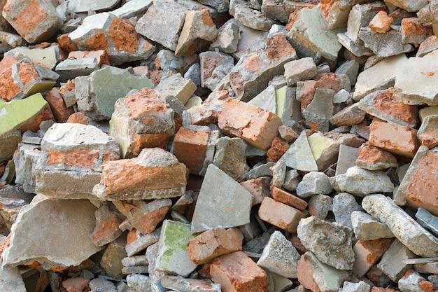 Brick schrott hintergrund
