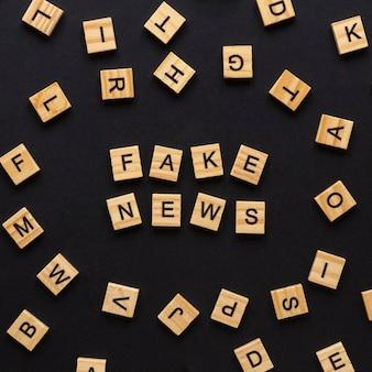 Briefe, die gefälschte nachrichten bilden