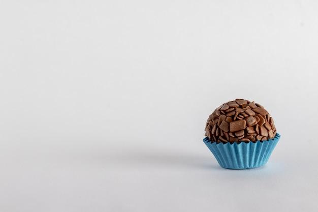 Brigadeiro gourmet oder gourmet schokolade aus brasilien