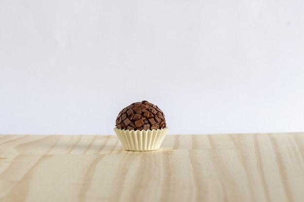Brigadeiro gourmet oder gourmetschokolade aus brasilien