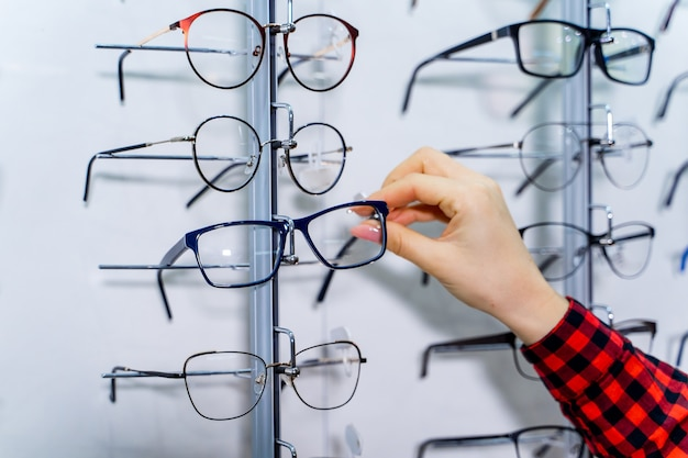 Brillen nahaufnahme