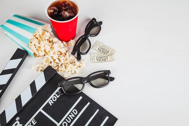 Brillen und kino zeug